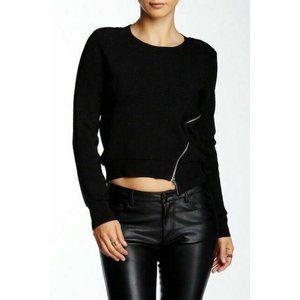 Townsen Polina Womens Black Knit Sweater Size M